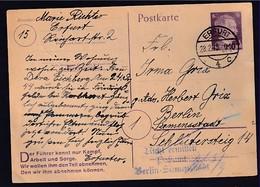 DR., Ganzsache,, Mi.-Nr. P 314 II B, Gestempelt. - Unclassified