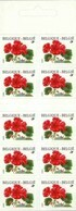 Boekje 32** Pelargonium  2850** Fleurs/ Bloemen / Flowers / Blumen MNH (Zelfklevend - Autocollants - Adhesif) - Carnet 1953-....
