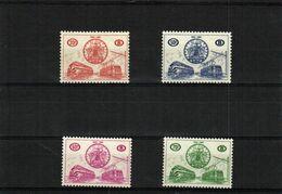 TR369/372 75ème ANNIVERESAIRE DE L'ASSOCIATION INTERNATIONALE DU CONGRE DES C.F. 1960 - Railway