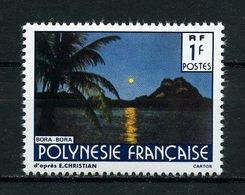 POLYNESIE 1991 N° 373A ** Neuf MNH Luxe  C 12,20 € Paysages Landscapes Nom Du Photographe Plus Grand - French Polynesia