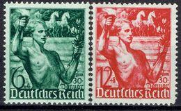 Deutsches Reich - Michel 660/661 Pfr.**/MNH - Unused Stamps