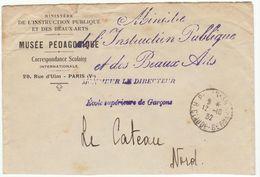ESC Franchise Ministre De L'Instruction Publique Et Des Beaux Arts  Cad Paris 1932 - 1921-1960: Periodo Moderno