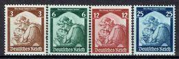 Deutsches Reich - Michel 565-568 Pfr.**/MNH - Unused Stamps