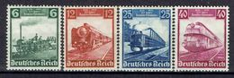 Deutsches Reich - Michel 580-582 Pfr.**/MNH + 583 Ungebr.*/MH - Unused Stamps