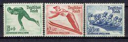 Deutsches Reich - Michel 600/601 Pfr.**/MNH + 602 Ungebr.*/MH - Unused Stamps