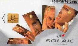 TELECARTE TELE 5 - SOLAIC - REF GN182 - France