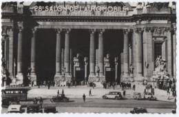 28 ème SALON DE L'AUTOMOBILE EN 1934 - GRAND PALAIS A PARIS - CPSM FORMAT CPA - 2 SCANS - - Toerisme