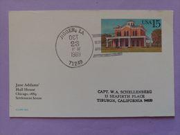 Jane Addam's Hull House Chicago 1889 Sttlement House Jigger LA Tiburon Califormie - Etats-Unis