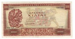 GREECE1000DRACHMAI16/04/1956P194VF+.CV. - Grèce