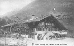 Gsteig Bei Gstaad Hôtel Hirschen - Wagen - Animée - BE Berne