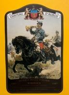 15449 - Château D'Auros 1987 Bordeaux Réserve De La Cavalerie - Paarden