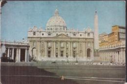 C. Postale - Roma - Piazza S. Pietro E Palazzo Vaticano - 1956  - Circulee - No Francobollo - A1RR2 - San Pietro