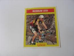 Autographe Champion Du Monde Cycliste Johan Museeuw - Autographes
