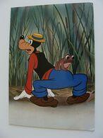 PLUTO  1970   WALT  DISNEY  PRODUTIONS  POSTCARD  USED - Disney