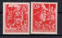 Deutsches Reich - Michel 909/910 Pfr.**/MNH - Unused Stamps