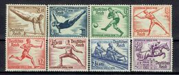 Deutsches Reich - Michel 609-616 Ungebr.*/MH - Unused Stamps