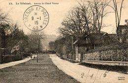 78. CPA. LE VESINET - Avenue Du Grand Veneur -  1915.  Scan Du Verso - - Le Vésinet