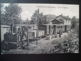 CHATILLON-SUR-CHALARONNE- Gare Du Tramway - Châtillon-sur-Chalaronne