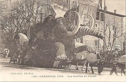 CPA Aix-en-Provence Carnaval 1928 Les Fouilles De Glozel - Aix En Provence