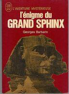 L'enigme Du Grand Sphinx Georges Barbarin  +++TBE+++ LIVRAISON GRATUITE - Esotérisme