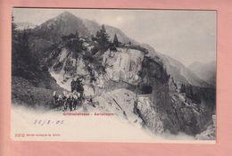 OLD   POSTCARD    -   SWITZERLAND  -  GRIMSEL - AERLENBACH - POST - POSTKUTSCHE  1900'S - BE Berne