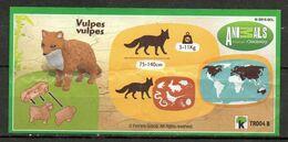 BPZ180 France Ref : TR004B Série Animal Planet Renard Roux - Instructions
