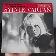 45T- Sylvie Vartan – 2'35 De Bonheur / Drôle De Fille - Disco, Pop
