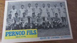 Equipes  AVIRON BAYONNAIS - Rugby