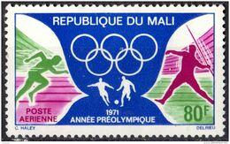 MALI - Année Préolympique 1971 - Y&T PA 122 - - Mali (1959-...)