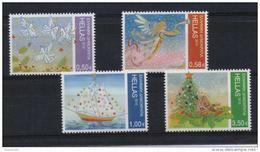 GREECE STAMPS CHRISTMAS 2010 -10/12/10-MNH-COMPLETE SET - Neufs