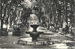 CPSM Aix-en-Provence La Fontaine Des 9 Canons - Aix En Provence