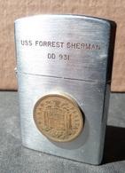 Briquet à Essence - USS FORREST SHERMAN  DD 931 - Lighters
