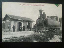 SALLES-D'AUDE- Gare Des Tramway A Vapeur - Salleles D'Aude