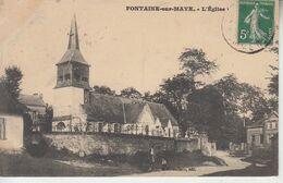 FONTAINE SUR MAYE - L'église  PRIX FIXE - Other Municipalities