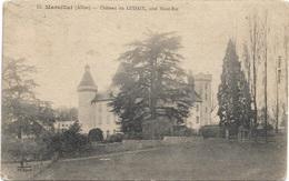 03 - MARCILLAT Château Du LUDAIX écrite - Andere Gemeenten