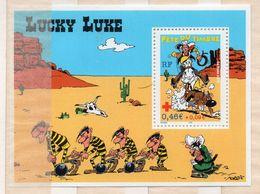 FRANCE - LUCKY LUKE - PERSONNAGES - FETE DU TIMBRE - CROIX ROUGE - FETE DU TIMBRE - 2003 - M/S - B/F - - Mint/Hinged