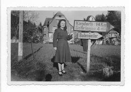 PENSION SONNENHEIM BADENWEILER KANDERN 14 KM SEHRINGEN SUR PANNEAU - PHOTO 9*5.5 CM - Lieux