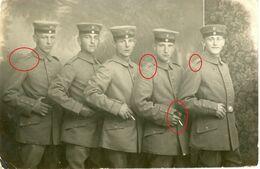 Morhange Mörchingen (Forbach-Boulay-Moselle) Soldats Allemande Carte Photo-guerre 14 -18 - 1914-18