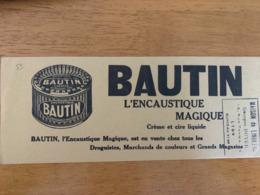 1 BUVARD BAUTIN - Pulizia