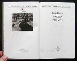 Lithuanian Book / Poezija Dramos Janis Rainis 1998 - Libros, Revistas, Cómics