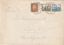 """Deutsches Reich / 1932 / Mi. 474 Und 475 U.a. Auf Brief Ex """"CRIMMITSCHAU"""" Vom 1.11.1932 (Ersttag !) (CH98) - Germany"""