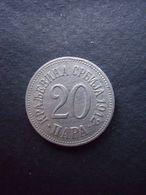 SERBIE = 1 PIECE  DE 20 PARAS  DE 1912 - Servië
