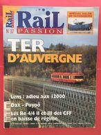 Revue Rail Passion N°37 - Mars 2000 - TER D'Auvergne - Letteratura & DVD