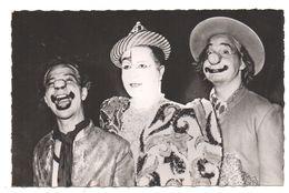 Cirque. Clowns. Les Rudi-llata. Edit: Télé-Radio-Circus. - Circus