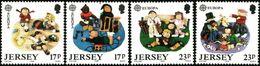CEPT / Europa 1989 Jersey N° 474 à 477 ** Jeux D'enfants - Europa-CEPT