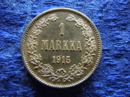 FINLAND 1 MARKKA 1915, KM3.2 AU - Finnland