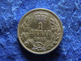 SERBIA 1 DINAR 1912, KM25.1 - Serbia