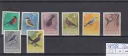 Suriname Michel Cat.No. Mnh/** 484/491 Birds - Suriname