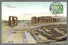 Abydos Temple Ramsès III - Egypte