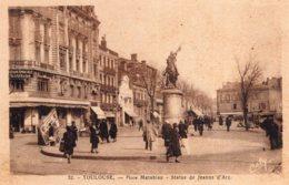 B70618 Cpa Toulouse - Place Matabiau - Toulouse
